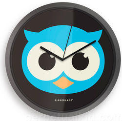 Glow in the Dark Owl Clock