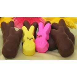 Chocolate Covered Bunny Peeps