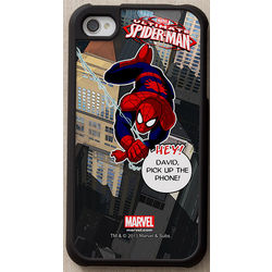 Personalized Spiderman iPhone Case