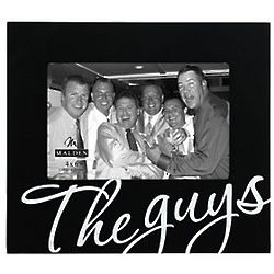 The Guys Black Picture Frame