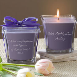 Lavender and Linen For My Love Scented Spa Candle