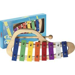 Curved Metallophone Toy with 8 Keys