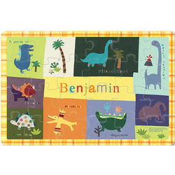 Dino-Mite Personalized Kid's Puzzle