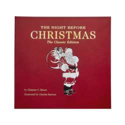The Night Before Christmas Leather Bound Collector's Edition Book