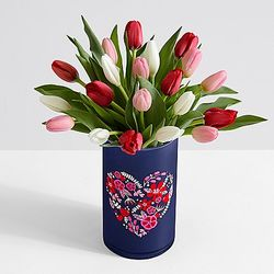 20 Sweetheart Tulips Bouquet