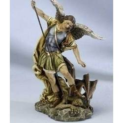 Saint Michael Archangel Statue 12""