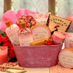 Pampered in Roses Spa Gift Set