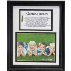 Grandchildren Photo Frame with Poem
