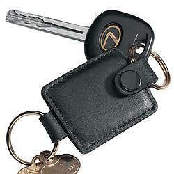 Nappa Leather Valet Key Fob