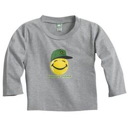 John Deere Infant Happy Lil Farmer Long-Sleeve Tee