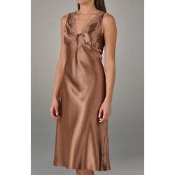 Reanna Long Sleeveless Satin Gown