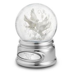 Love Birds Snow Globe