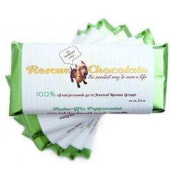 Fosteriffic Peppermint Chocolate Bars