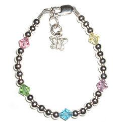 Butterfly Charm Baby Bracelet