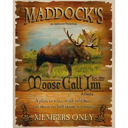Personalized Moose Call Inn T-Shirt