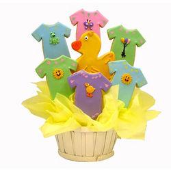 Baby Ducky Sugar Cookie Basket