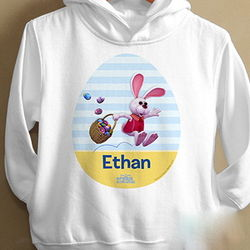 Toddler's Personalized Easter Bunny Sweatshirt