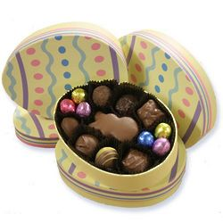Easter Egg Box with Chocolates