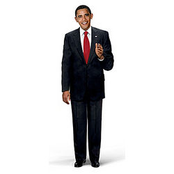 Talking President Barack Obama Commemorative Doll