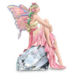 Morning Star, the Hopeful Fairy Breast Cancer Charity Figurine