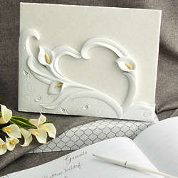 Calla Lily Design Guest Book