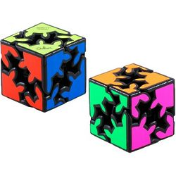 Gear Shift Cube Meffert's Rotation Brain Teaser Puzzle