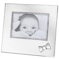 Swarovski Crystal Trimmed Baby Photo Frame