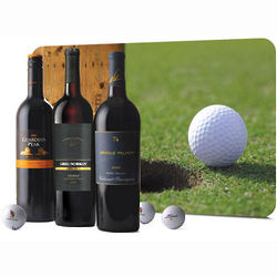 Golf and Wine Legends Gift Set