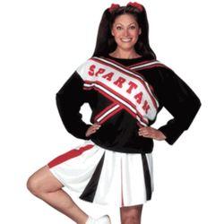 Female Spartan Cheerleader Costume