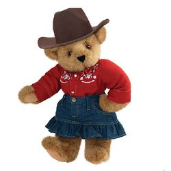Cowgirl Teddy Bear