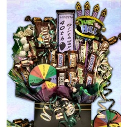 Over The Hill Birthday Candy Bouquet