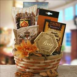 Cozy Collections Gourmet Gift Basket
