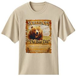 Personalized Bear Den T-Shirt