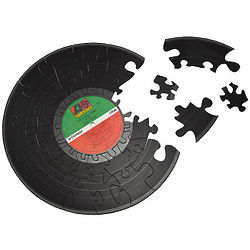 Vinyl Record Puzzle