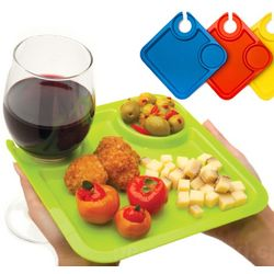 Wine Hanger Party Plates