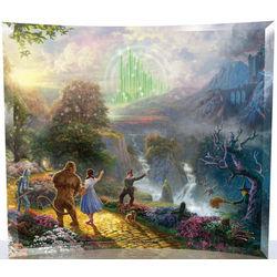 Thomas Kinkade Wizard of Oz Starfire Glass Print