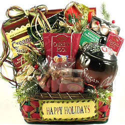 Have a Happy Holiday Gourmet Gift Basket