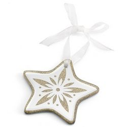 Star Mirror Christmas Ornament