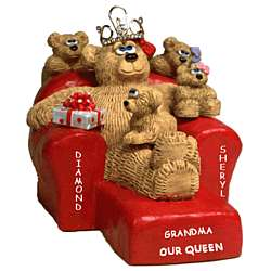 Our Grandma Our Queen Bears in Chair