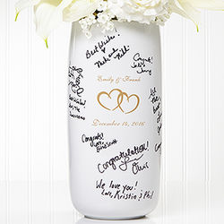Joined Hearts Signature Wedding Vase
