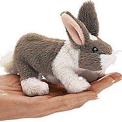 Mini Bunny Finger Puppet