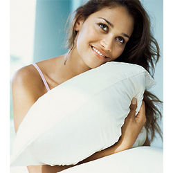 Venice White Goose Down and Feather Pillow