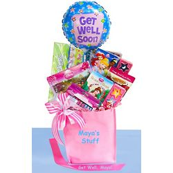 Disney Princess Get Well Gift Basket for Girls