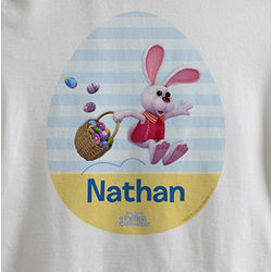 Personalized Kid's Peter Cottontail Easter T-Shirt