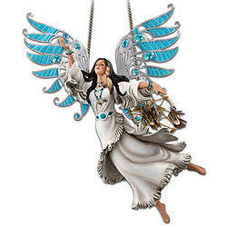 Native American-Inspired Spirit of Tranquility Figurine