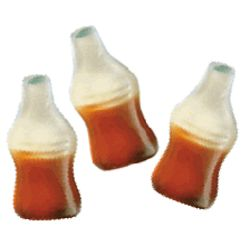 Happy Cola Gummy Candy Bottles
