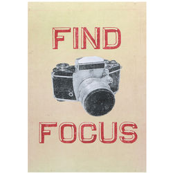 Find Focus Sign