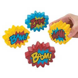 Boom! Bam! Wham! Stress Balls