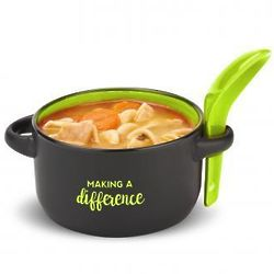 Making a Difference Soup Mug & Spoon Set