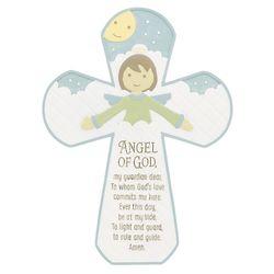 Angel of God Prayer Cross
